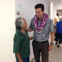 Sen. Schatz Meets with Maui Community Members